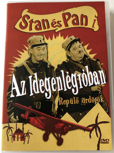 The Flying Deuces DVD 1939 Stan és Pan az idegenlégióban / Directed by A. Edward Sutherland / Starring: Stan Laurel, Oliver Hardy, Jean Parker, Reginal Gardiner, Charles Middleton / B&W Classic (5999881767599)