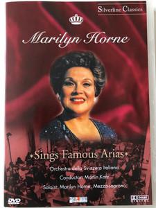 Marilyn Horne Sings Famous Arias DVD 1986 Orchestra della Svizzera Italiana / Conducted by Martin Katz / Soloist, Marilyn Horne, Mezzo-soprano / Recorded at the Congress Palace, Lugano, Switzerland 1986 / amado - Cascade GmbH (4028462800026)