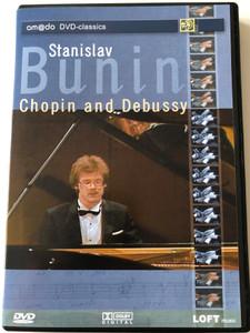 Stanislav Bunin - Chopin and Debussy DVD 2002 Amado DVD-classics / Live Recording 1987 Munich Piano Summer / Cascade GmbH (4028462600206)