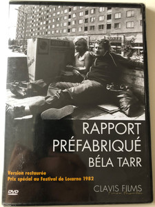 The Prefab People DVD 1982 Rapports Préfabriqué - Panelkapcsolat / Restored Version / Directed by Béla Tarr / Starring: Róbert Koltai, Judit Pogány (3700246902430)