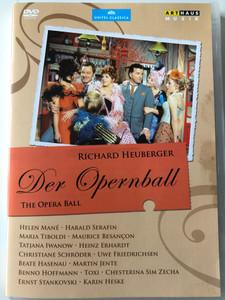The Opera Ball DVD 1970 Richard Heuberger Der Opernball / Operetta Film / Directed by Eugen York / Starring: Harald Serafin, Helen Mané, Maurice Besançon, Maria Tiboldi, Uwe Friedrichsen (807280162899)