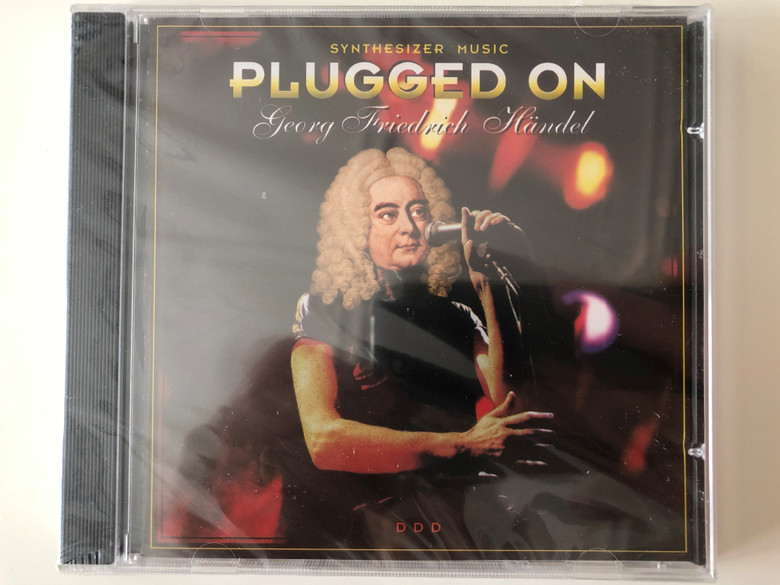 Synthesizer Music Plugged On - Georg Friedrich Handel / Music Alliance AG Audio CD 1996 / 4011222016799