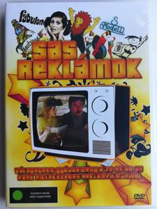 Sas Reklámok DVD Commercials with Sas István / Directed by Valihora Annamária, Lantos László / 234 reklám - commercials / Válogatott gyűjtemény a 70-es és 80-as évek emlékezetes reklámfilmjeiből (5999545585989)