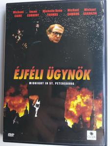 Midnight in St. Petersburg DVD 1996 Éjféli Ügynök / Directed by Douglas Jackson / Starring: Michael Caine, Jason Connery (5999552130103)