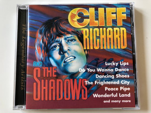 Cliff Richard And The Shadows - Lucky Lips, Do You Wanna Dance, Dancing Shoes, The Frightened City, Peace Pipe, Wonderful Land, and many more / MEGA Audio CD 1997 / MCDA 87024