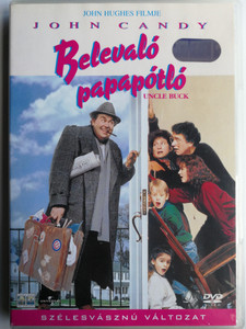 Uncle Buck DVD 1989 Belevaló papapótló / Directed by John Hughes / Starring: John Candy, Jean Louisa Kelly, Amy Madigan (5999010445916)