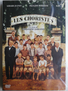 Les Choristes DVD 2004 The Chorus / Directed by Christophe Barratier / Starring: Gérard Jugnot, François Berléand, Kad Merad, Jean-Baptiste Maunier (3388334508933)