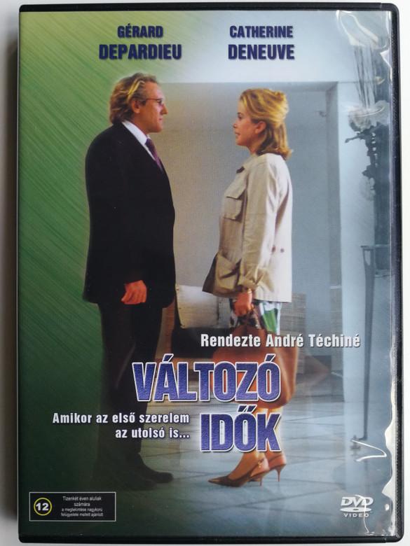 Les temps qui changent DVD 2004 Változó Idők (Changing Times) / Directed by André Téchiné / Starring: Catherine Deneuve, Gérard Depardieu (5999544151826)