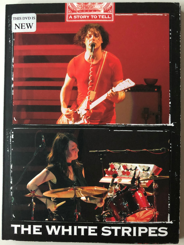 The White Stripes DVD 2007 A Story to tell - Paris, France - Concert Privé - Nürburgring, Germany - Rock am Ring / Apocalypse Sound / AS125 (30102007125)