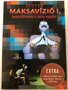 Best of Maksavízió 1. DVD 2003 Humorsűrítmény a nehéz napokra / Directed by Maksa Zoltán / Extra - A Maksa Híradóból ismert Virág Tihamér főkertész a PECSÁ-ban / Maksfilm (5991813791955)