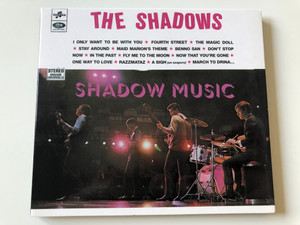 The Shadows - I Only Want To Be With You, Fourth Street, The Magic Doll, Stay Around, Maid Marion's Theme, Benno San, Don't Stop Now, In The Past, Fly Me To The Moon, Now That You're Gone / MAM Productions Audio CD 1999 Stereo / 5201092
