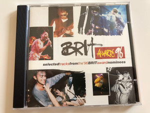 Brit Awards 96 / Selected tracks from the '96 Brit award nominees / Columbia ‎Audio CD 1996 Stereo / 483873 2