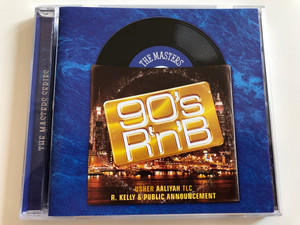 The Masters - 90's R'n'B / Usher Aaliyah TLC, R. Kelly & Public Announcement / Sony Music ‎Audio CD 2009 / 88697508832