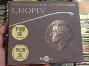 Wydanie Narodowe - The National Edition - Chopin / Fryderyk 2002 Award, Fryderyk 2002 Nomination / BeArTon 5x Audio CD / 5908311807217