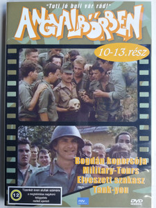 Angyalbőrben (Hungarian TV Series) DVD 1991 / Directed by Gát György, Szurdi Miklós / Starring: Usztics Mátyás, Mészáros Zoltán, Szerednyei Béla / Episodes 10-13. (5999553600254)