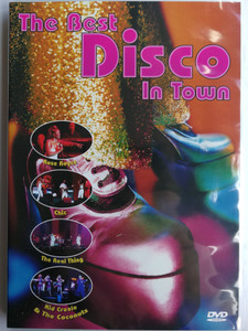 The Best Disco in Town DVD 2006 / Rose Roy, Chic, The Real Thing, Kid Creole & The Coconuts / Delta Music (4006408826910)
