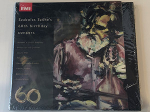 Szabolcs Szőke's 60th Birthday Concert / Bladder Circus Company, Ektar Tin-Tin Quintet, Laszlo Des, Mihaly Dresch, Kornel Fekete-Kovacs, Gabor Juhasz, Zoltan Lantos / 60 / Hunnia Records & Film Production 2x Audio CD 2009 / 5999883042274