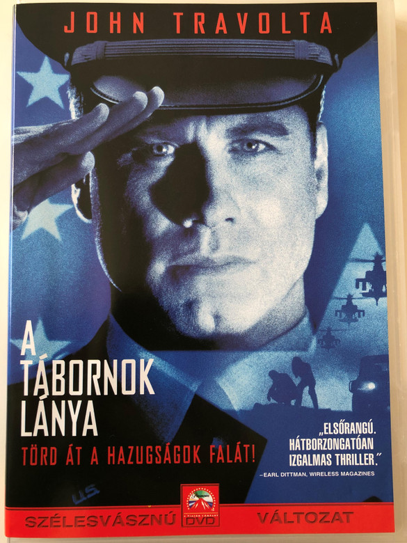 The General's Daughter DVD 1999 A tábornok lánya / Directed by Simon West / Starring: John Travolta, Madeleine Stowe, James Cromwell, Timothy Hutton (5996217427301)