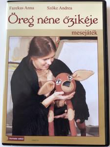 Öreg néne őzikéje DVD Mesejáték / Directed by Baráth Zoltán / Staring: Baráth Zoltán, Klepács Andrea, Szőke Andrea / Mesélő (Narrator) Bicskey Lukács / Hungarian Puppet theatre - Old Lady's deer (5999883987018)