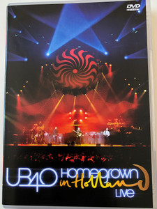UB40 - Homegrown in Holland LIVE DVD 2004 / Present Arms, Maybe TOmorrow, Someone Like me, Red Red Wine, Kingston Town / Interview, Behind the Scenes, Bonus Track: Swing Low / Warner Music Group (0825646163922)