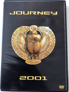 Journey DVD 2001 / Directed by Dave Neugebauer, Kate Ferris & Josh Adams / Featuring founding Members, Neal Schon, Ross Valory, Jonathan Cain, Dean Castronovo / Sony Music Entertainment (5099720181897)