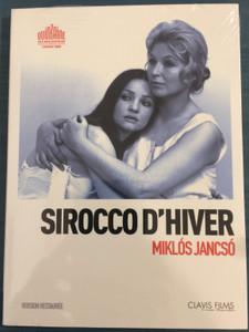 Sirokkó DVD 1969 Sirocco D'hiver / Directed by Jancsó Miklós / Starring: Jacques Charrier, Marina Vlady, Ewa Swann, Madaras József, Bujtor István, Szabó László (3700246907220)