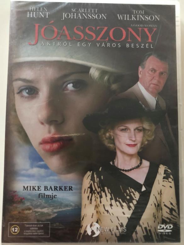 A Good Woman DVD 2004 Jóasszony akiről egy város beszél / Directed by Mike Barker / Starring: Helen Hunt, Scarlett Johansson, Tom Wilkinson (5999544155374)