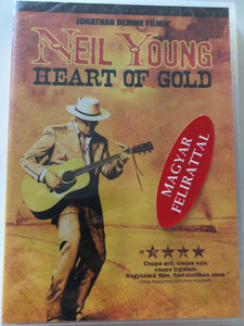 Neil Young - Heart of Gold DVD 2006 / Directed by Jonathan Demme / Starring: Neil Young, Emmylou Harris, Ben Keith (5996255722185)