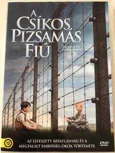 The Boy in the Striped Pyjamas DVD 2008 / Directed by Mark Herman / Starring: Vera Farmiga, David Thewlis, Rupert Friend, David Hayman (5999546337136)