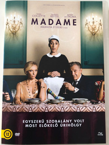 Madame DVD 2017 / Directed by Amanda Sthers / Starring: Harvey Keitel, Toni Collette, Rossy de Palma (5996471003266)