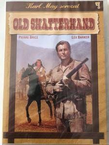 Old Shatterhand DVD 1964 / Directed by Hugo Fregonese / Starring: Lex Barker, Guy Madison, Pierre Brice, Herbert Lom, Daliah Lavi / Karl May Sorozat 4. (5999883047965)