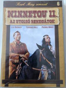 Winnetou II. DVD 1964 Winnetou II. Az Utolsó Renegátok (Last of the Renegades) / Directed by Harald Reinl / Starring: Lex Barker, Pierre Brice, Anthony Steel / Karl May sorozat 6. (5999883047989)