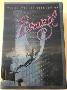 Brazil - The Criterion Collection DVD SET 1985 - 3 discs / Directed by Terry Gilliam / Starring: Jonathan Pryce, Robert de Niro, Katherine HelmondDisc 1 - The Movie, Disc 2 The Production Notebook, Disc 3 Brazil: Love Conquers All
