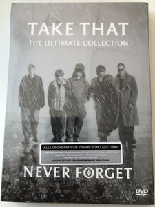 Take That - The Ultimate Collection DVD 2005 Never Forget / Music Videos, Live Performances, Extras, Behind the Scenes / Sony BMG (828767485393)
