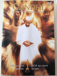 Gandhi DVD 1982 / Directed by Richard Attenborough / Starring: Candice Bergen, Edward Fox, John Gielgud, Trevor Howard, John Mills, Martin Sheen, Ben Kingsley (5998329507407)