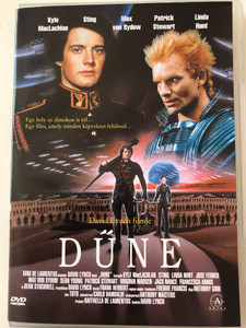 Dune (1984) DVD Dűne / Directed by David Lynch / Kyle MacLachlan, Sting, Max von Sydow, Patrick Stewart, Linda Hunt / Sci-Fi Classic (5999542111051)