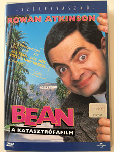 Bean DVD 1997 Bean - Az igazi katasztrófafilm / Directed by Mel Smith / Starring: Rowan Atkinson, Peter MacNicol, Pamela Reed, Harris Yulin (5999002100366)