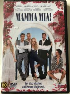 Mamma Mia DVD 2008 / Directed by Phyllida Lloyd / Starring: Meryl Streep, Pierce Brosnan, Colin Firth, Stellan Skarsgård, Julie Walters / Evlilik Yolunda Hic Unutamayacaginiz Bir Maceraya Cikin (5996051050406)
