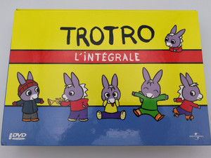 Trotro - L'intégrale 6 DVD Box 2004 / Directed by Eric Cazes, Stephane Lezoray / French animated tv show / Full Series - 78 episodes (5050582845808)