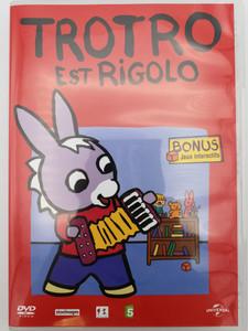 Trotro est Rigolo DVD 2004 / Bonus: Interacive Games - Jeux Interactifs / Directed by Eric Cazes, Stephane Lezoray / French animated tv show / Season 1 - 13 episodes (5050582333138)