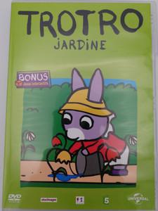 Trotro - Jardine DVD 2004 / Bonus: Interacive Games - Jeux Interactifs / Directed by Eric Cazes, Stephane Lezoray / French animated tv show / 13 episodes (5050582695335)