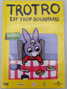 Trotro est trop gourmand DVD 2004 / Bonus: Interacive Games - Jeux Interactifs / Directed by Eric Cazes, Stephane Lezoray / French animated tv show (5050582363296)