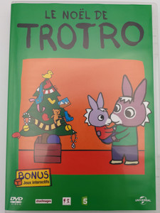 Le Noel de Trotro DVD 2004 / Bonus: Interacive Games - Jeux Interactifs / Directed by Eric Cazes, Stephane Lezoray / French animated tv show / 13 episodes (5050582459586)