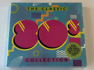 The Classic 80s Collection / Featuring Wham!, Rick Astley, Luther Vandross, Whitney Houston, Adam & The Ants, The Jacksons, Europe, and many more... / Sony Music 3x Audio CD 2017 / 88985440422