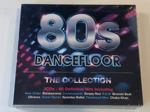 80s Dancefloor - The Collection / 3CDs - 60 Definitive Hits Including / New Order, Bananarama, Communards, Simply Red, R. E. M., Bronski Beat, Ultravox, Duran Duran, Spandau Ballet / Rhino Records 3x Audio CD 2014 / 825646305353