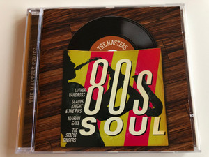 The Masters: 80s Soul / Luther Vandross, Gladys Knight & The Pips, Marvin Gaye, The Staple Singers / Sony BMG Music Entertainment Audio CD 2008 / 88697351782
