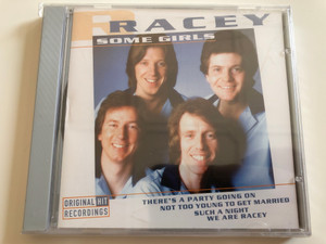 Racey ‎– Some Girls / There's A Party Going On, Not Too Young To Get Married, Such A Night, We Are Racey / Wise Buy ‎Audio CD 1998 / WB 885562