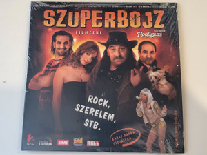 Szuperbojz - Rock, Szerelem, Stb. / EMI Audio CD 2009 / 5099960610027
