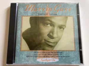 Marvin Gaye ‎– Distant Lover / I Heard It Through The Grapevine, Let's Get It On, What's Going On, Ain't Nothing Like The Real Thing, Sexual Healing / Spotlight On / Javelin ‎Audio CD 1994 / HADCD165