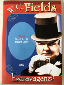 W.C. Fields Extravaganza  DVD Disc 3. Mixed Nuts - / An affectionate Look at W.C. Fields, Pool Sharks, Cupid Gets his man, W.C. Fields film follies Festival / Passport International Productions / DVD 3333